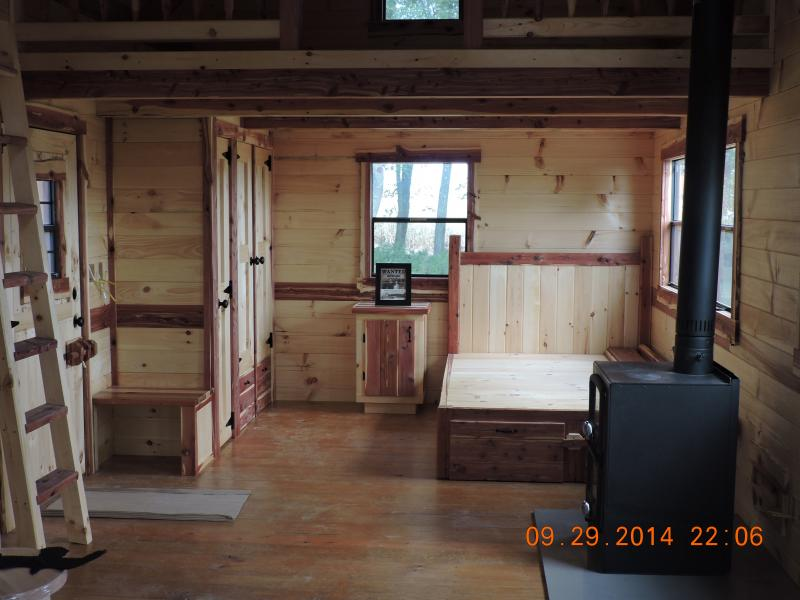 Trophy Amish Cabins Llc 12 X 32 Xtreme Lodge Deluxetotal 546 S F12 X 32 Main