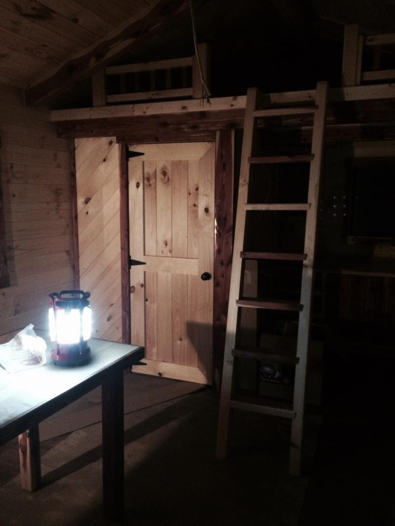 Trophy Amish Cabins Llc 12 X 32 Escapeescape Style Cabin Is Basically A Cottage Interior