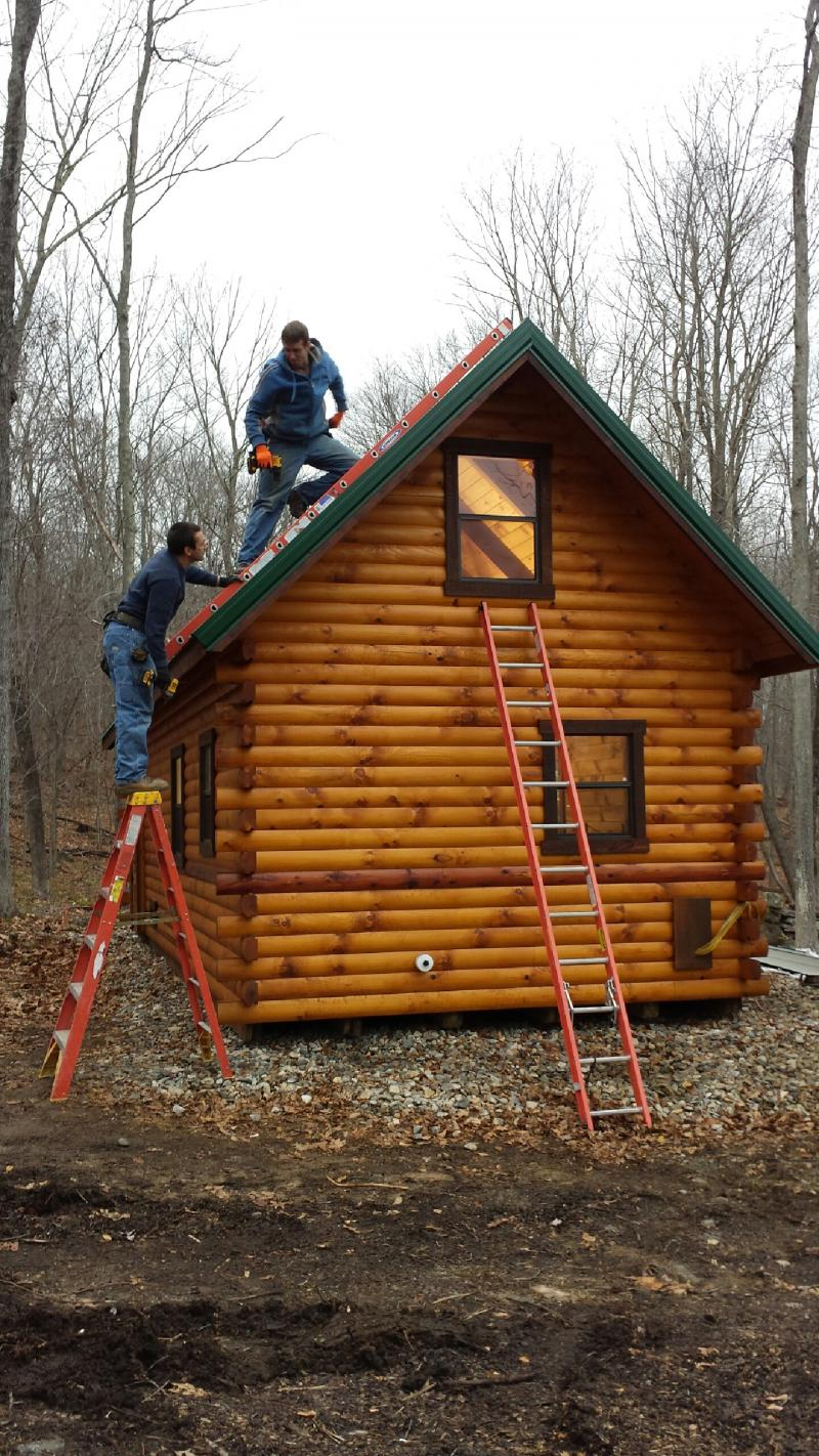 Trophy Amish Cabins Llc 12 X 32 Xtreme Lodge Deluxe