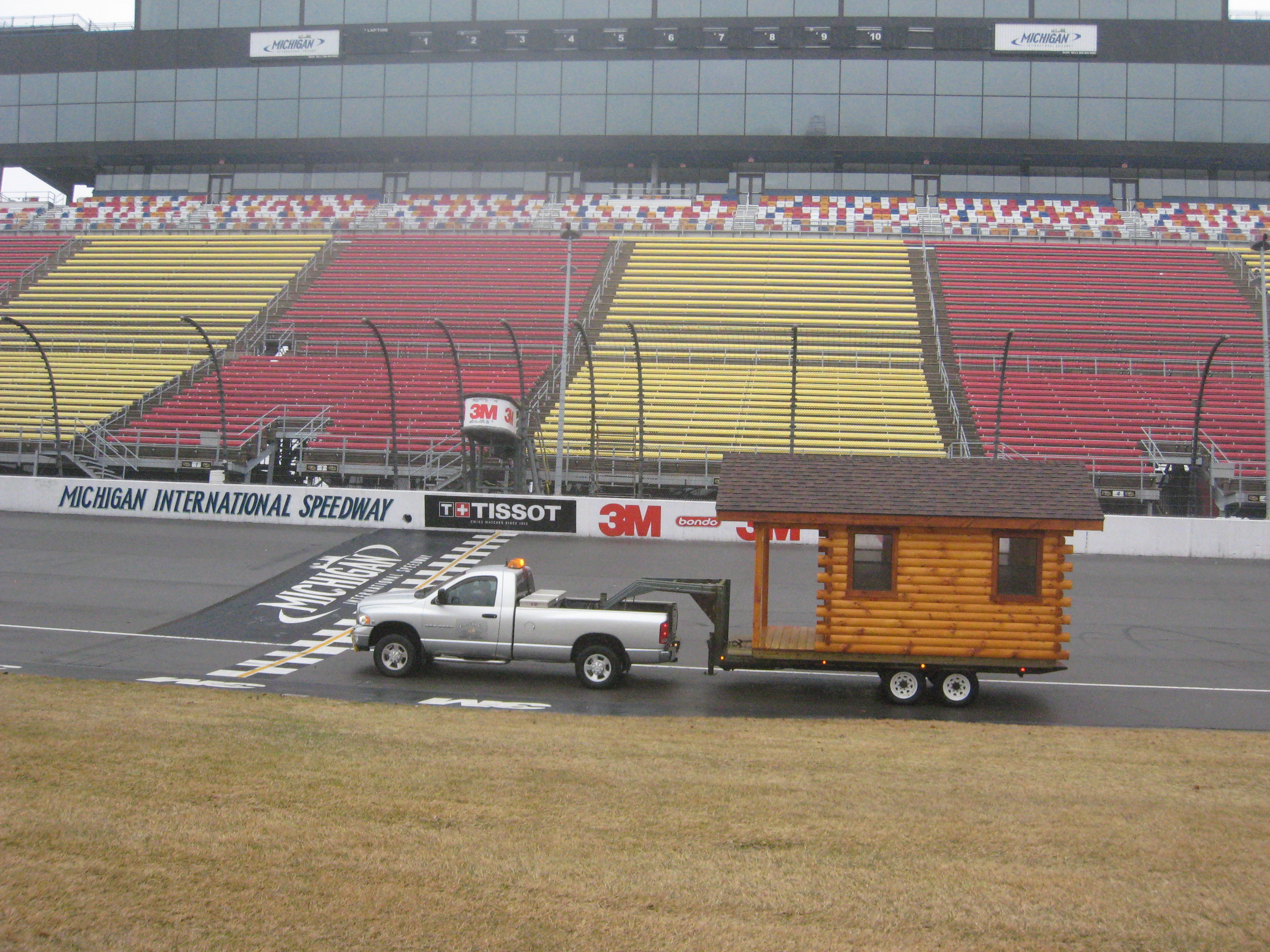 Michigan International Speedway Fast Delivery