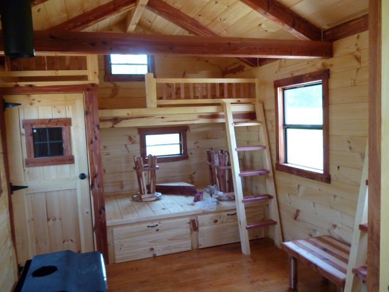 Trophy Amish Cabins LLC 10 X 20 Hunter 200 Sf