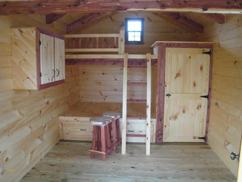 hunting lodge bunk beds 2