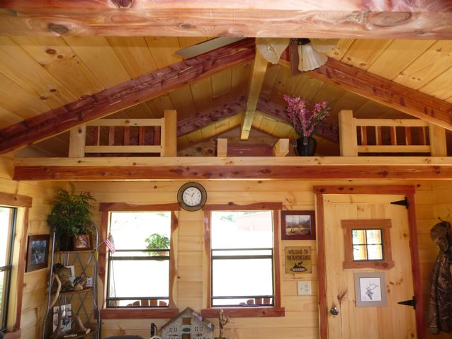 Swell Trophy Amish Cabins Llc Interiors Largest Home Design Picture Inspirations Pitcheantrous